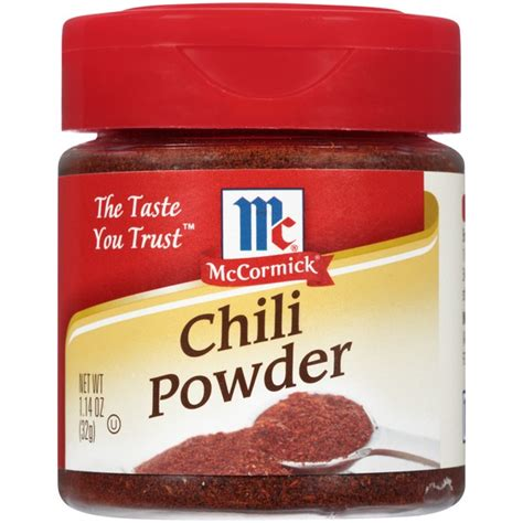 Mccormick Chili Powder Blend Mc Cormick Bumbu Bubuk Cabai Cabe mccormick chili powder 1 14 oz from cub instacart