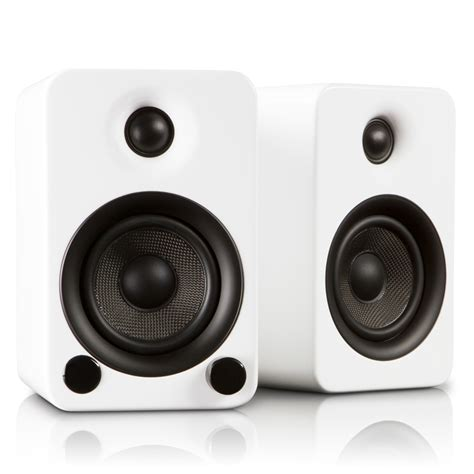 modern speaker yu3 powered bookshelf speakers ice kanto touch