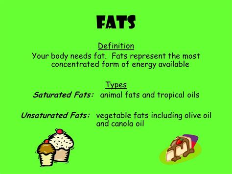 healthy fats definition nutrition ppt