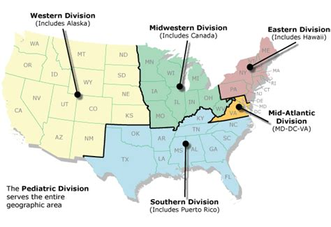geographic regions of the united states map geographical regions of the united states map
