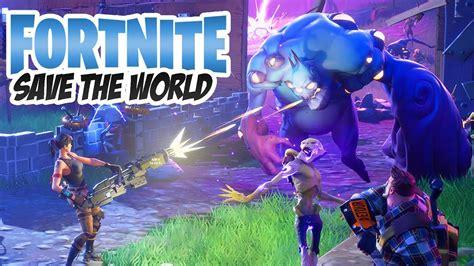 fortnite zombie mode save  world youtube
