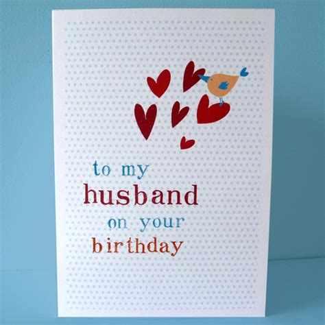 Handmade Birthday Card Ideas For Husband - husband birthday card diy folksy buy quot husband