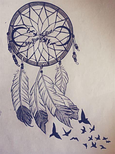 dreamcatcher infinity tattoo dream catcher by 808lsalvador on deviantart