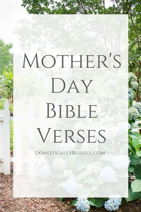bible verses  mothers