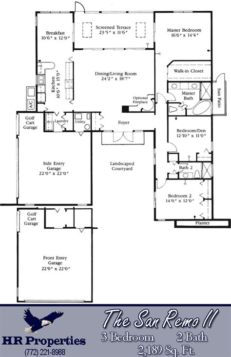 san remo floor plans harbour ridge yacht country club by hr properties