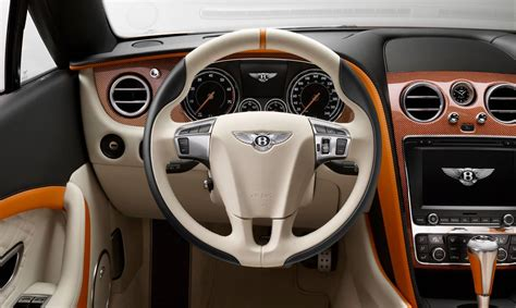 bentley orange interior this orange bentley continental has mulliner s touch