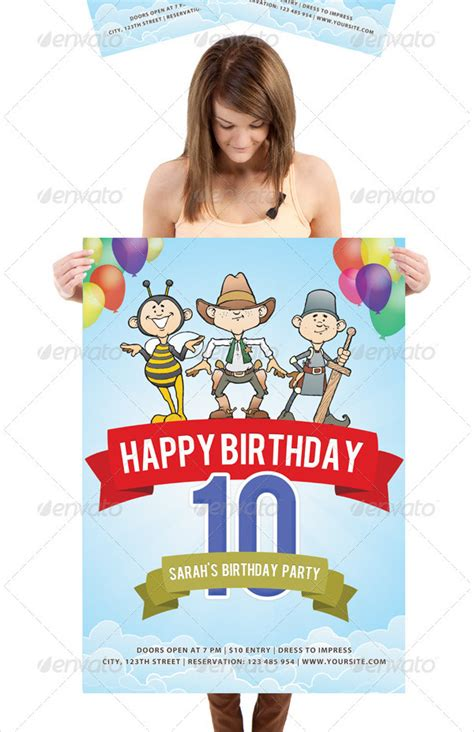 templates for birthday posters 27 birthday poster templates free premium download