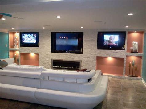 contemporary man cave contemporary home theater dc