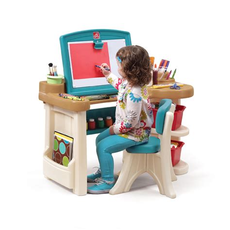 Step 2 Deluxe Art Master Desk Toys Games Arts Step 2 Studio Desk