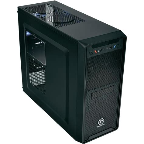 Thermaltake Versa G2 Casing midi tower pc casing thermaltake versa g2 black from