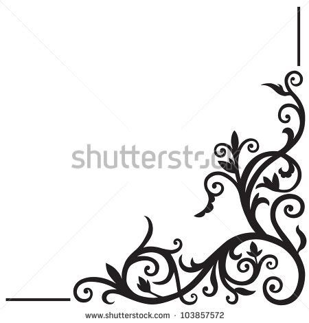unique cool corner designs corner design stock images royalty free images vectors