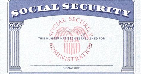 social securty card template home strengthen social security