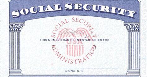 printable social security card template home strengthen social security