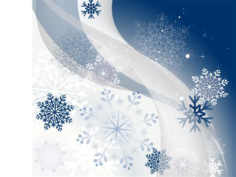 winter powerpoint template winter background with snowflakes backgrounds blue