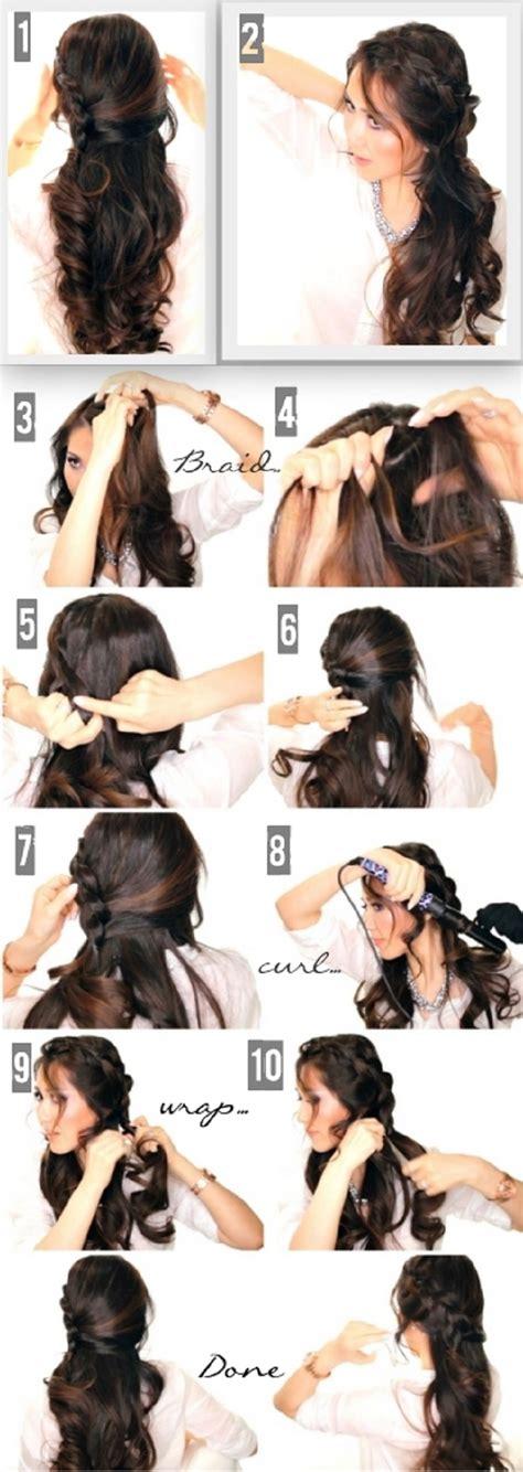 down hairstyles tutorial tutoriales de peinados que debes de tener esta primavera