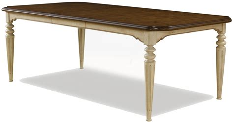 two tone dining table rectangular two tone dining table by a r t furniture inc