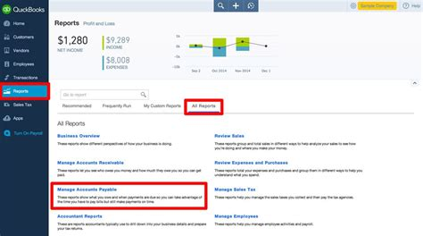 Expenditure Report Quickbooks by Quickbooks Reports For Expenses And Payments