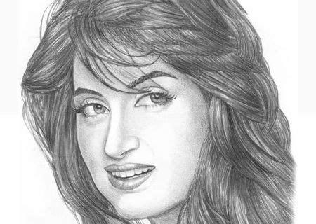 Sketsa Wajah 5 33 contoh gambar sketsa wajah dengan pensil paling bagus
