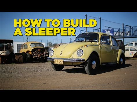 Building A Sleeper Car by Building A Sleeper Beetle The Awesomer