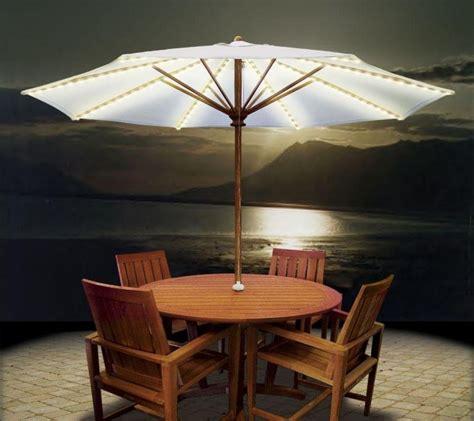 Patio Umbrellas With Lights 45 Patio Umbrella Ideas Sun Shade Sail Designs For Backyard