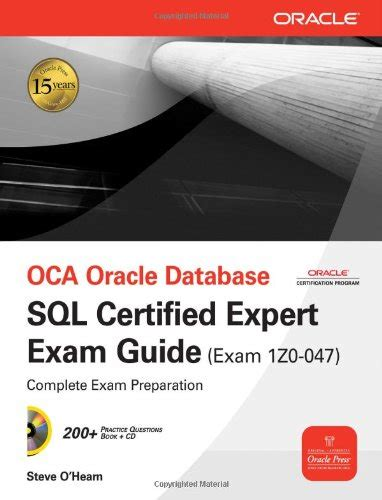 oracle tutorial for experts sql certificate useful resources