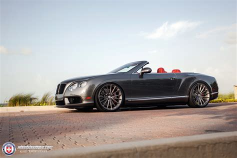 bentley gtc custom slammed bentley continental gtc on custom hoops