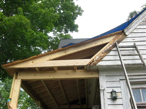 Add Gable To Roof Gable Porch Roof Additions Thesouvlakihouse