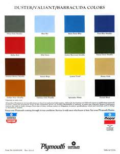 mopar colors 1973 barracuda specs colors facts history and