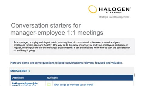 Employee Feedback And Coaching Templates Download Toolkit One On One Meeting Template For Managers