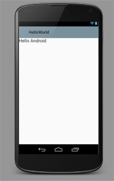 text templates for android hello android the hello world application codeproject