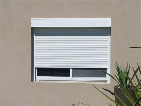 persiana alluminio persiana con cajon exterior color blanca obras