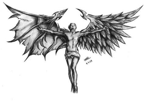 tattoo ali demone tatuaggi angeli e demoni significato e tante idee tutte