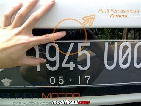 Argento Tatakan Plat Nomor Mobil Oem For Toyota Wish kamera parkir mobil universal oem high quality waranty by sundamotor