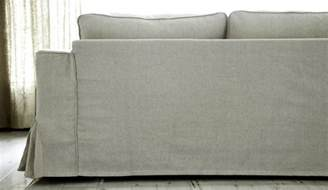 Club Chair Slipcover Loose Fit Linen Manstad Sofa Slipcovers Now Available