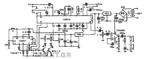 surround sound lifier circuit diagram wiring diagram