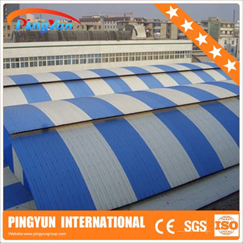 Genteng Acrylic plastic roofing corrugated plastic roof panels corrugated plastic roof panel for greenhouse