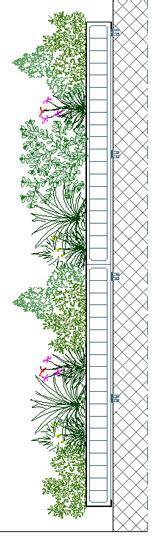 strutture per giardini verticali i giardini verticali storia e tipologie