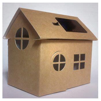 huis van karton 17 beste idee 235 n over kartonnen dozen op pinterest