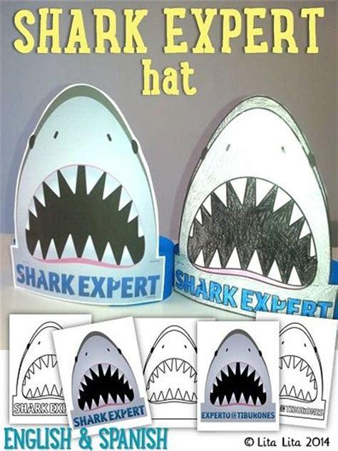 shark hat craft template 17 best ideas about shark craft on shark books