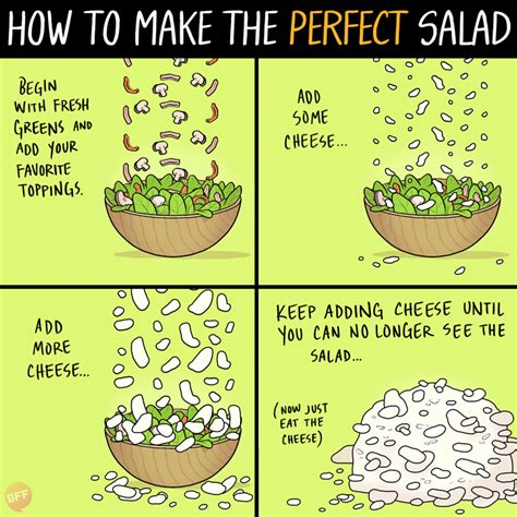 how to make a how to make the salad