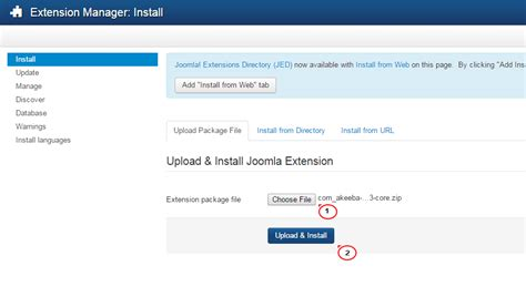 how to install template in joomla joomla 3 x how to install and manage extensions