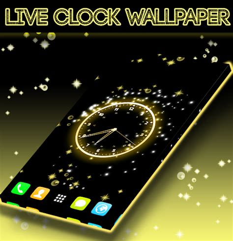 black clock live wallpaper hd v1 05 download live clock wallpaper for pc