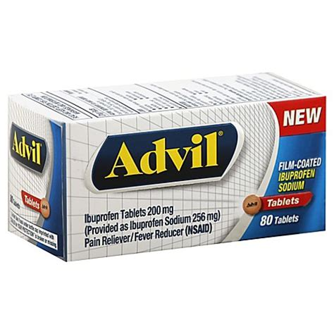ibuprofen before bed advil 174 80 count film coated tablets bed bath beyond