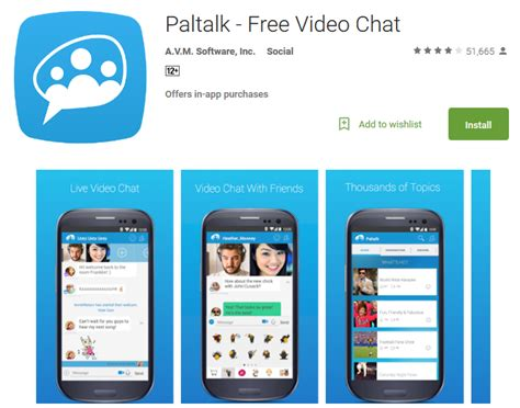 paltalk messenger for android top 12 free chat apps for live calling andy tips