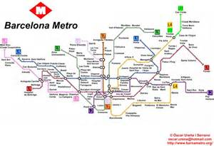 barcelona metro map budget friendly things to do in barcelona the family sangria