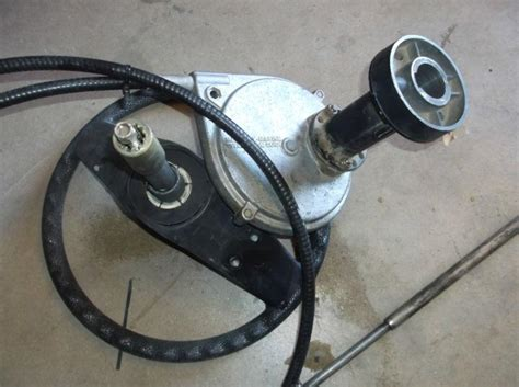 boat steering cable and wheel buy mercury ride guide boat steering system with 10 ft
