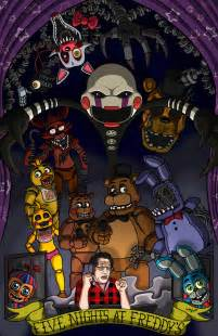 Five nights at freddy s feat markiplier by marshall arts comics on
