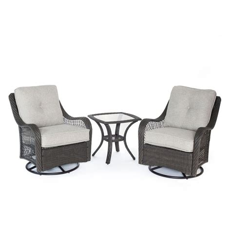 Orleans Patio Furniture by Shop Hanover Outdoor Furniture Orleans 3 Wicker