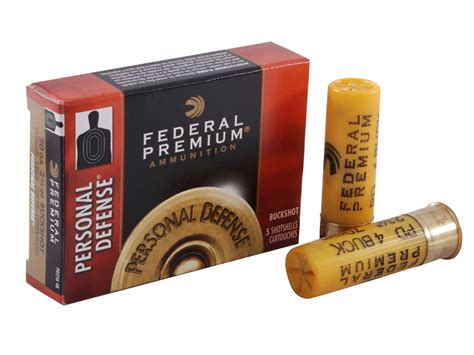 federal premium personal defense ammo 20 ga 2 3 4 upc