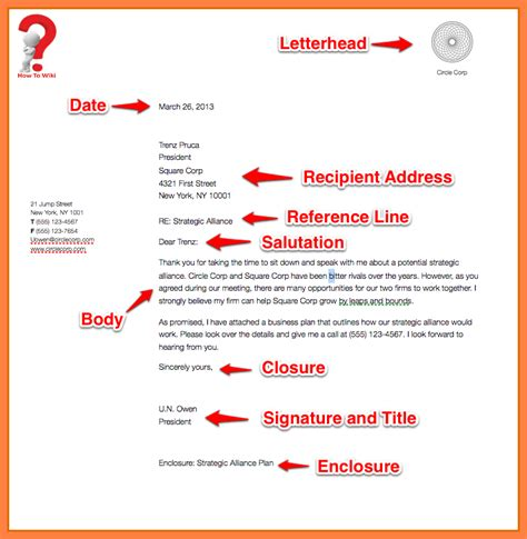 write business letter company